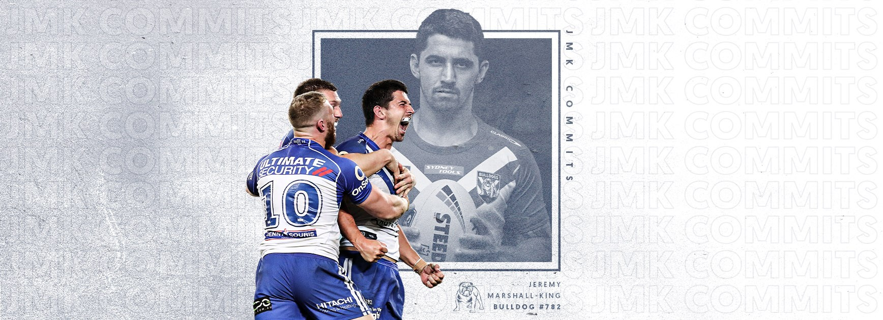 Jeremy Marshall-King re-signs with the Bulldogs for the next two seasons