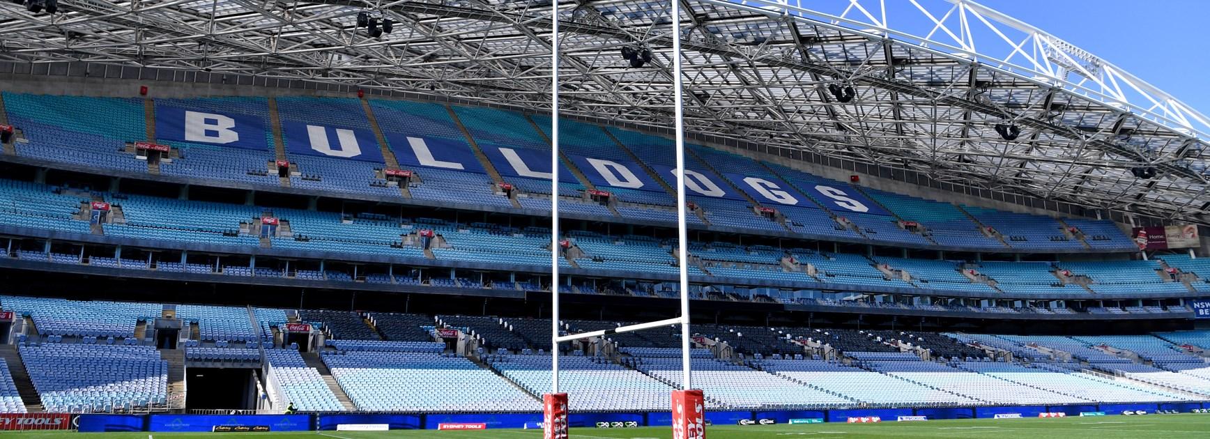 Bulldogs move Round Five match to Stadium Australia