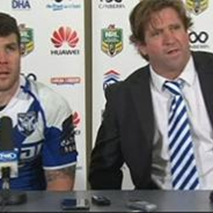 Bulldogs v Raiders Round 23 Press Conference