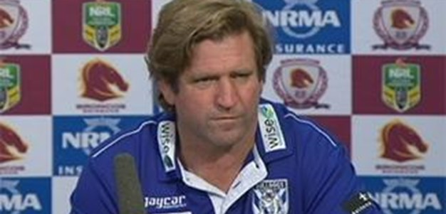 Bulldogs v Broncos RD 26 Press Conference
