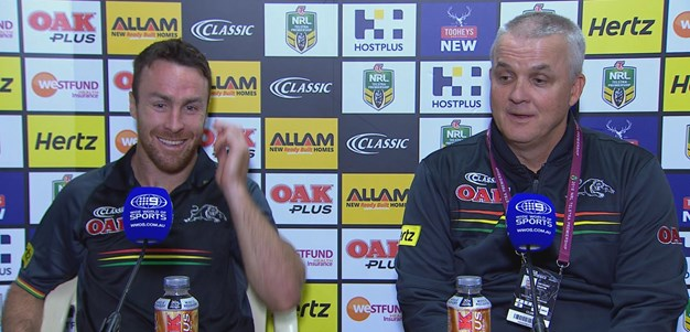 Round Eight: Panthers Press Conference