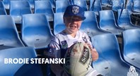 Brodie Visits Belmore Before Mbye's Final Bulldogs Game