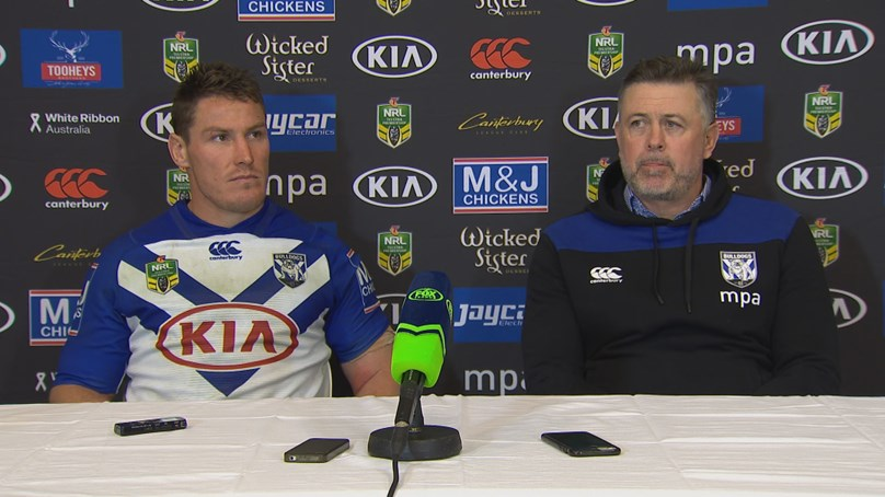 Bulldogs press conference - Round 17