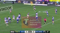 Holland scores the opener against the Eels