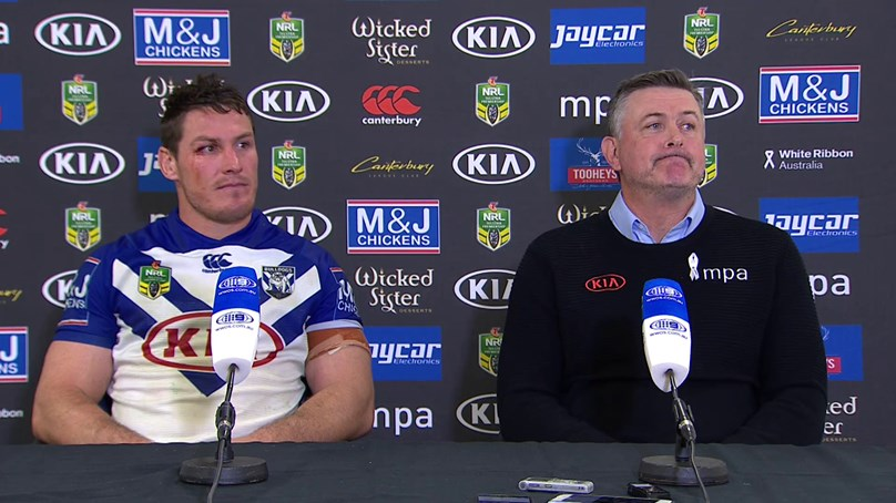 Bulldogs press conference - Round 20