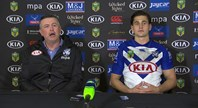 Bulldogs press conference: Round 23