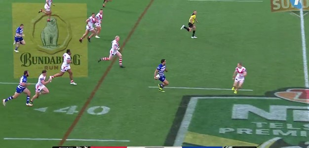 Smith scores a blistering try