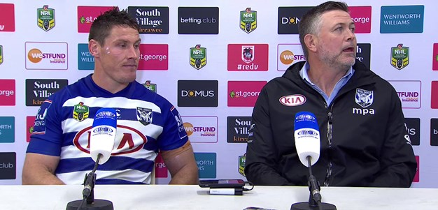 Round 24 Bulldogs press conference