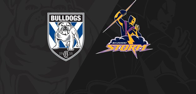 Round 1 Full Match Replay: Bulldogs v Storm