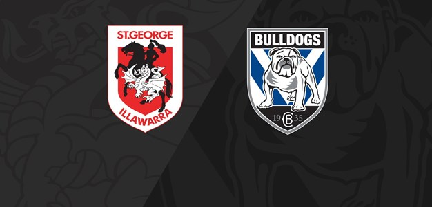 Full Match Replay: Dragons v Bulldogs - Round 24