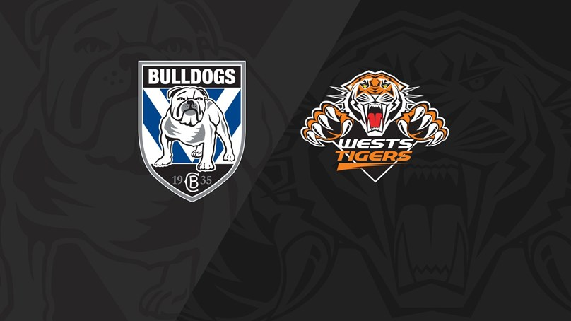 Full Match Replay: Bulldogs v Wests Tigers - Round 20, 2018
