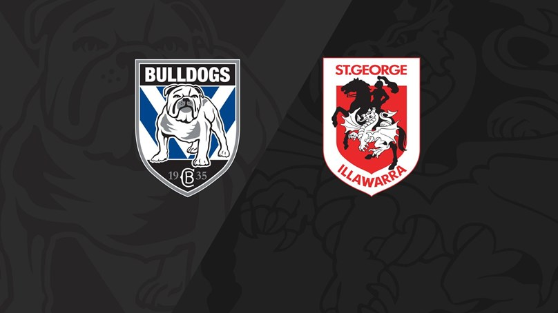 Full Match Replay: Bulldogs v Dragons - Round 14, 2018