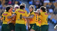 Match Highlights: Kiwi Ferns v Jillaroos