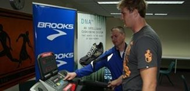Brooks Shoe Fitting
