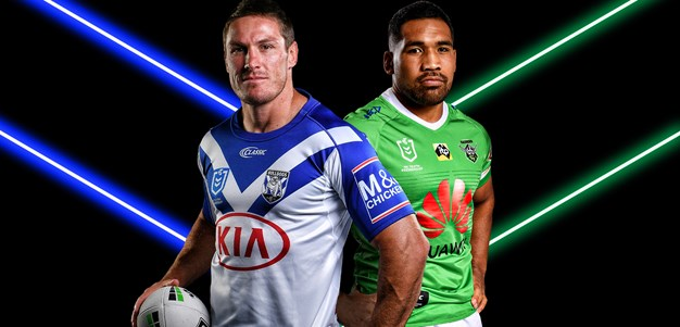 Bulldogs v Raiders - Round 12