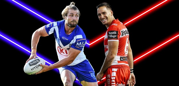 Bulldogs v Dragons - Round 13