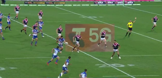 Seven sets of hands sends Hopoate over