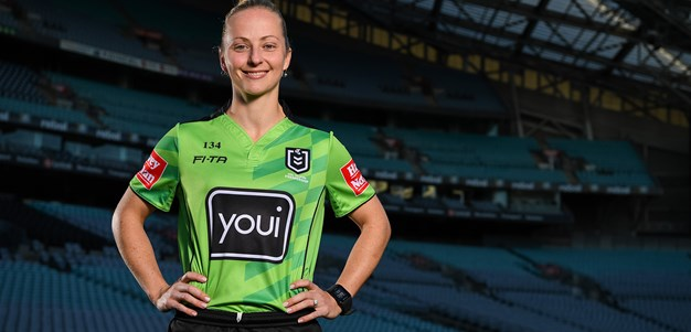 Belinda Sharpe hopes she is the first of many female referees