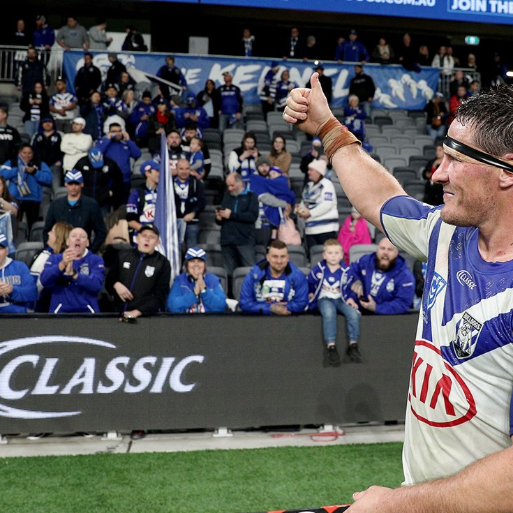 Bulldogs players in awe of Bankwest Stadium