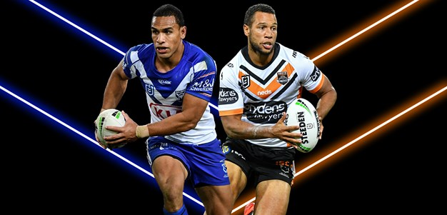 Bulldogs v Wests Tigers – Round 21
