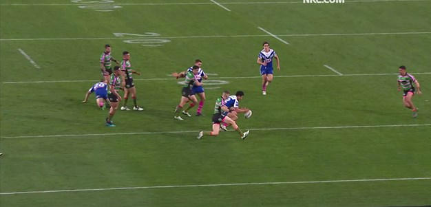 Crafty kick from Foran provides for Harawira-Naera