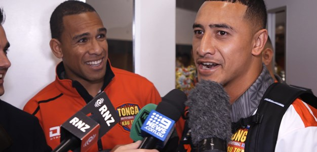 Taukeiaho crashes Hopoate press conference