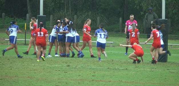 Tarsha Gale Cup Round 6: Bulldogs vs Steelers