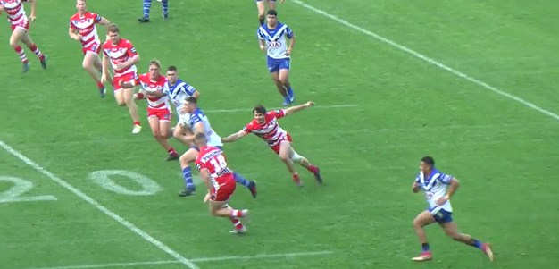 Bulldogs number three try