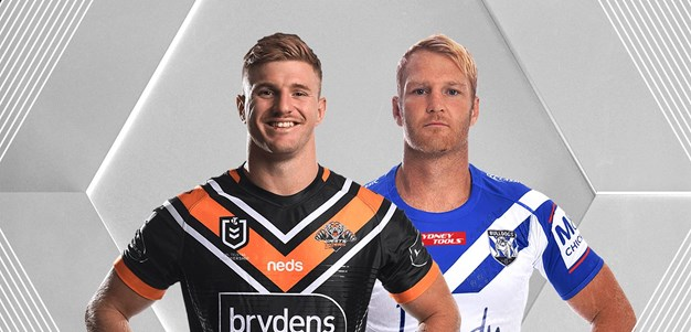 Wests Tigers v Bulldogs - Round 14