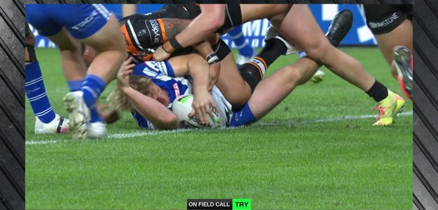 Unselfish Marshall-King hands Tolman a try