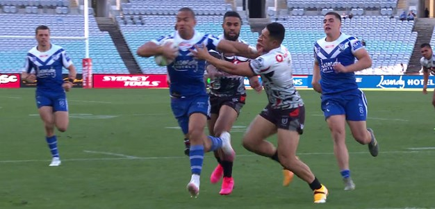 Cogger puts Hopoate into open space