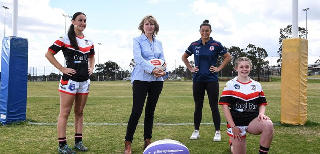 Welcome to Harvey Norman Women In League Round