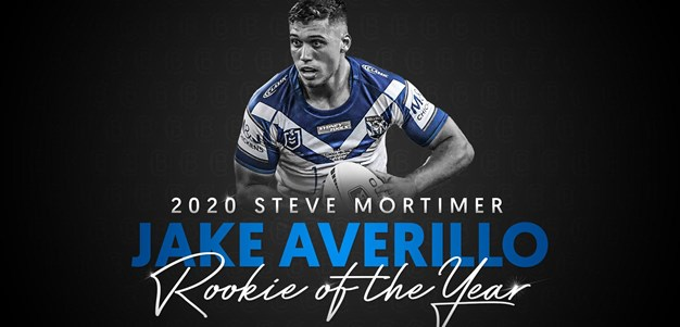 2020 Rookie of the Year: Jake Averillo