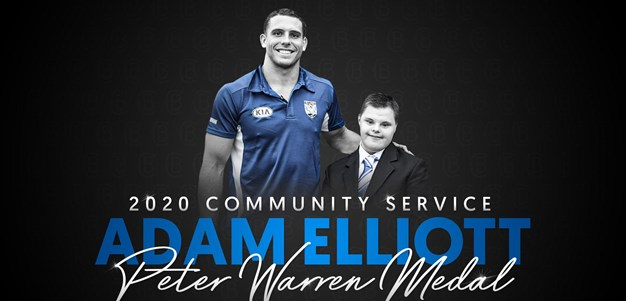 2020 Community Service Award: Adam Elliott