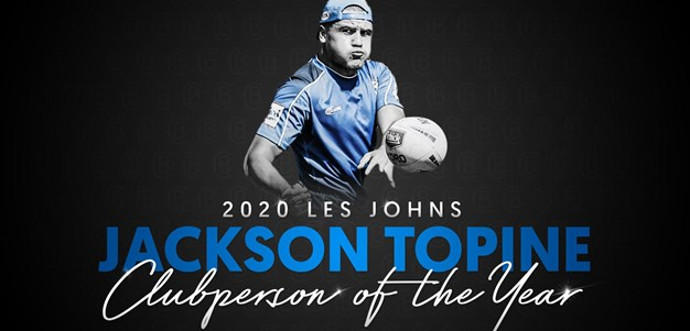 2020 Clubperson of the Year: Jackson Topine