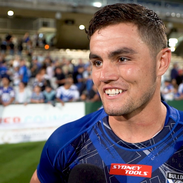 Flanagan happy to get through first hit out in blue