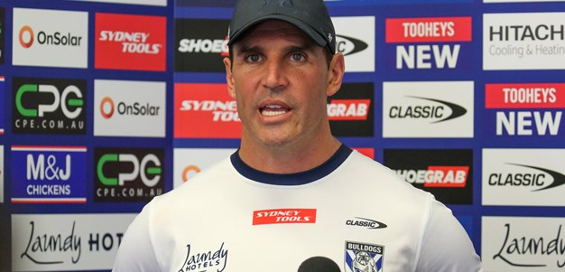 Trent Barrett Mid-Week Press Conference: Round 5 v Storm