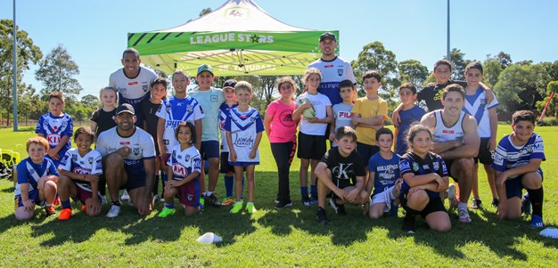 Bulldogs League Stars School Holiday Clinic