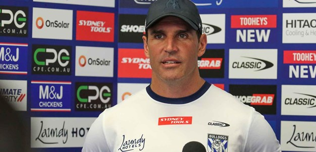 Trent Barrett Mid-Week Press Conference: Round 7 v Sharks