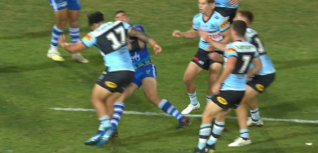 Talakai sent to sin bin for shoulder charge