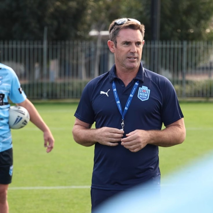 Fittler and True Blues coaching Country City U16s & 18s