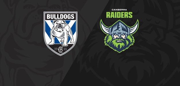 Full Match Replay: Bulldogs v Raiders - Round 10, 2021