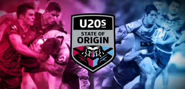 Under 20s State of Origin - NSW v Queensland