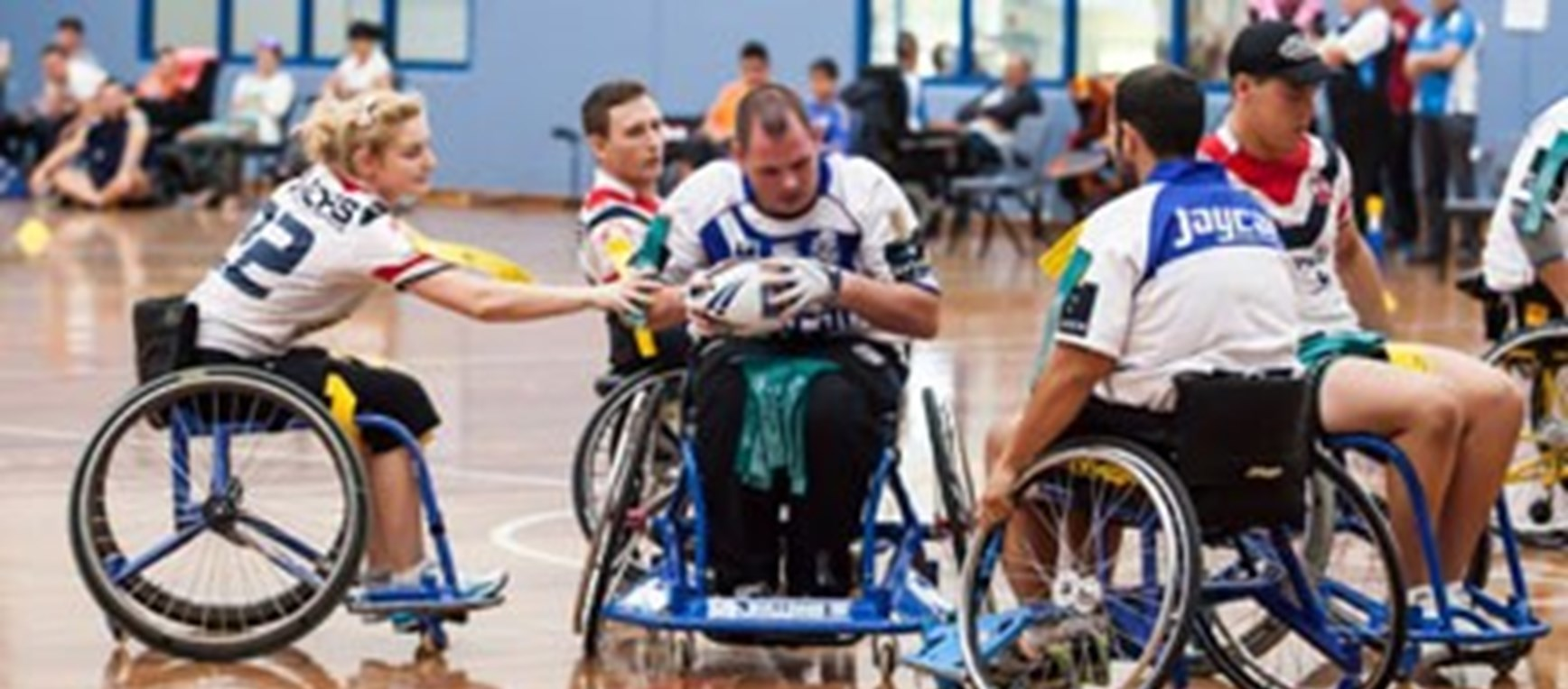 Passionate Supporters Excel in Wheelchair Rugby League