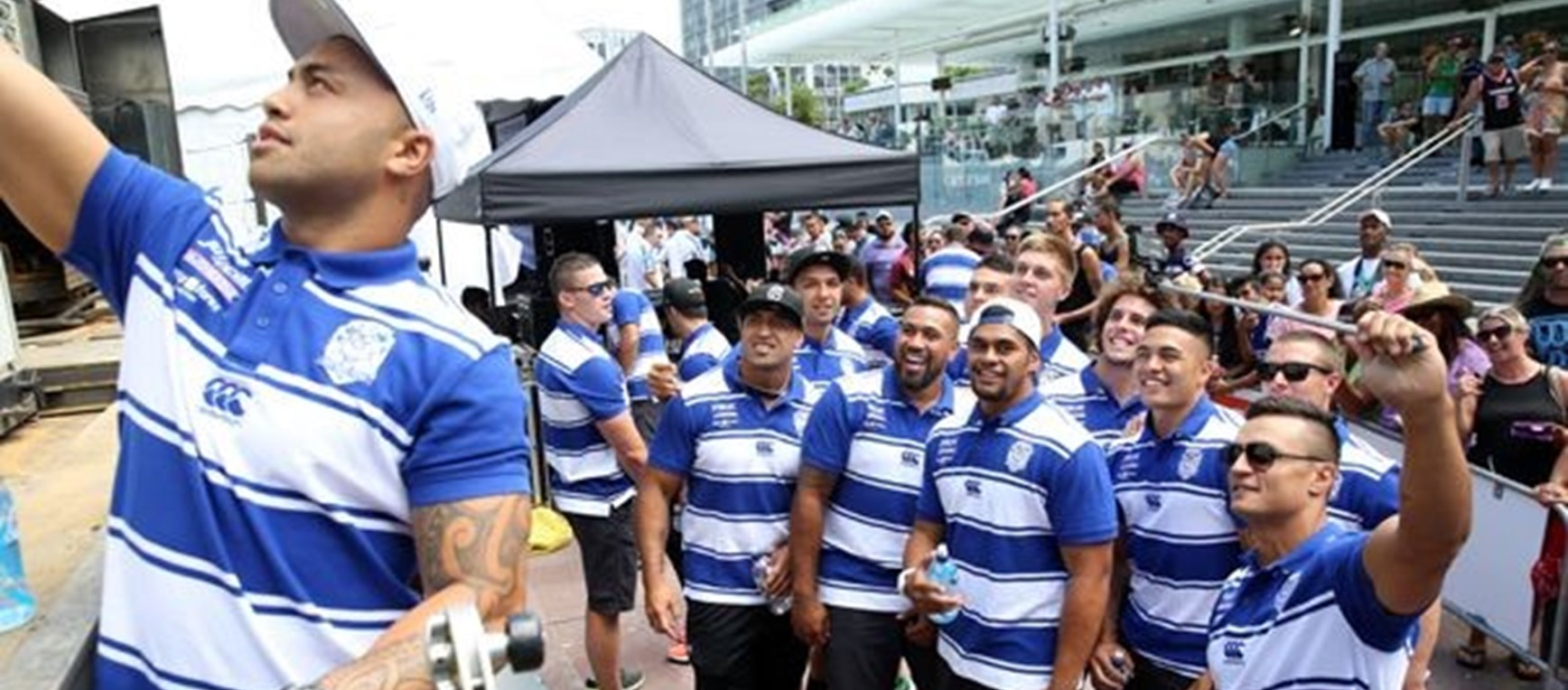 Auckland Nines Fan Day in Pics