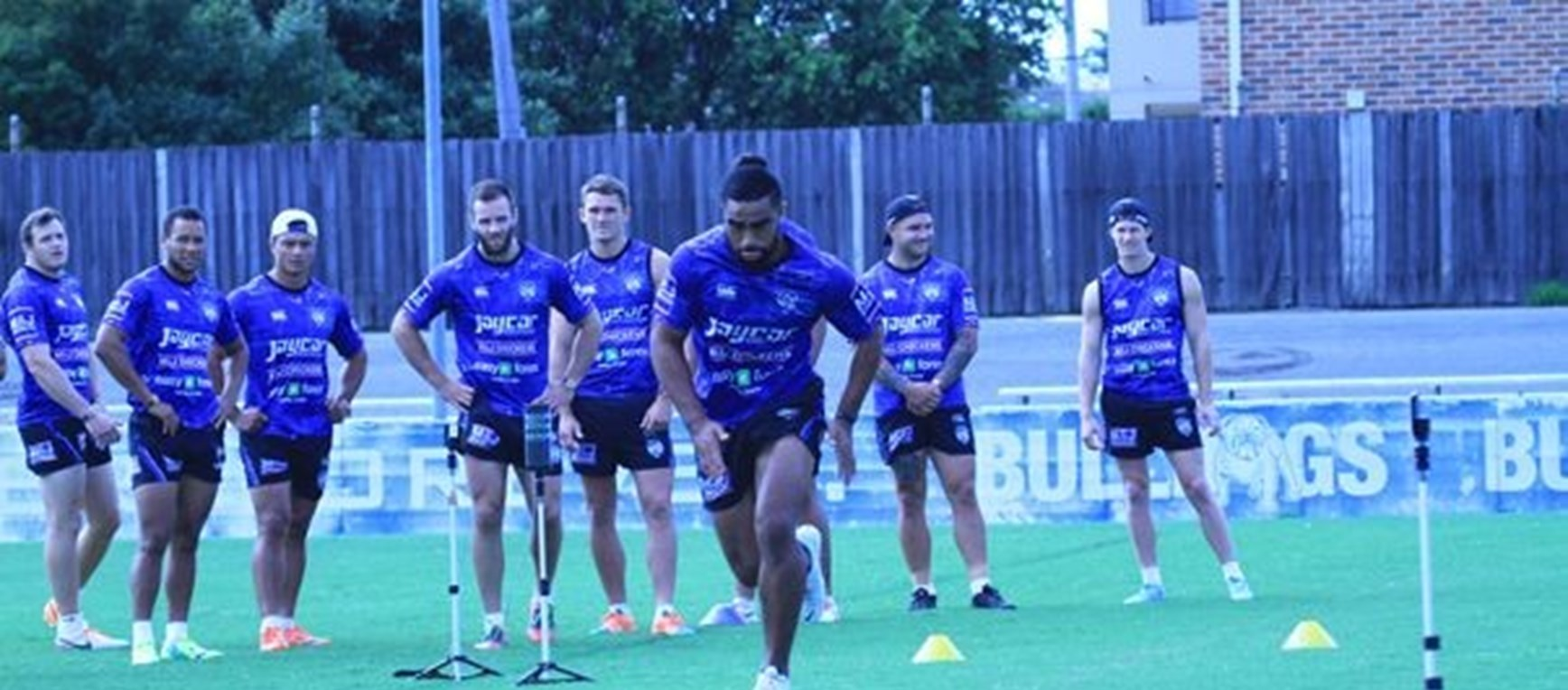 Backs Speed Session in PIcs