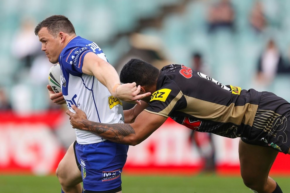 Competition - NRL Finals. Round - Qualifying Finals. Teams - Penrith Panthers v Canterbury Bankstown Bulldogs. Date - 11th of September 2016. Venue - Allianz Stadium, Moore Park, NSW. Photographer - Paul Barkley | NRL Photos