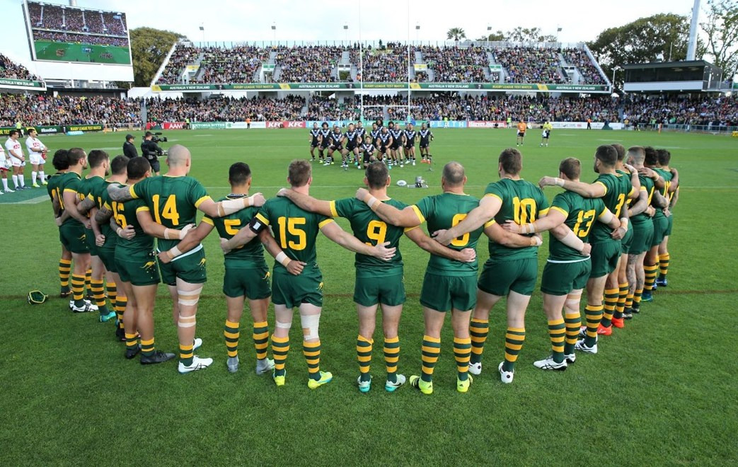 2016 International Rugby League, Test Match - AUSTRALIAN KANGAROOS v NEW ZEALAND KIWIS.
