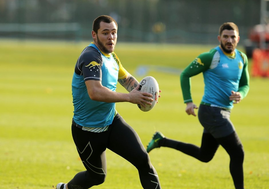 2016 International Rugby League, 4 Nations - AUSTRALIAN KANGAROOS Training.