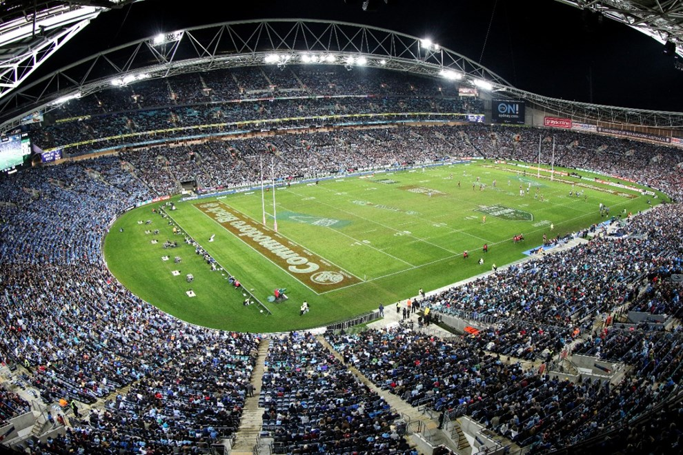 Competition - State of Origin Rugby League - Game 1.  Teams - NSW Blues v QLD maroons.  Round -   Date - Wednesday 1st of June 2016.  Venue - ANZ Stadium Homebush